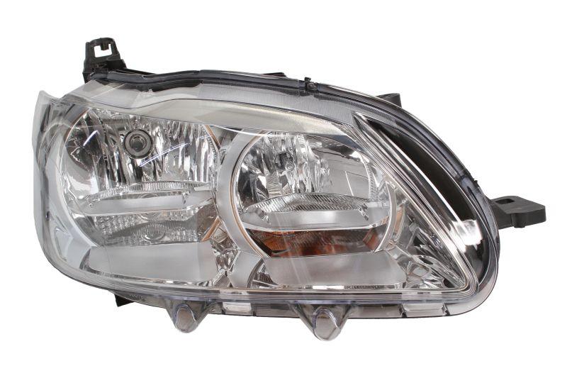 Far Peugeot 301, 01.2013-, Electric, tip bec H1+H7, omologare ECE, fara motoras, Dreapta, marca DEPO