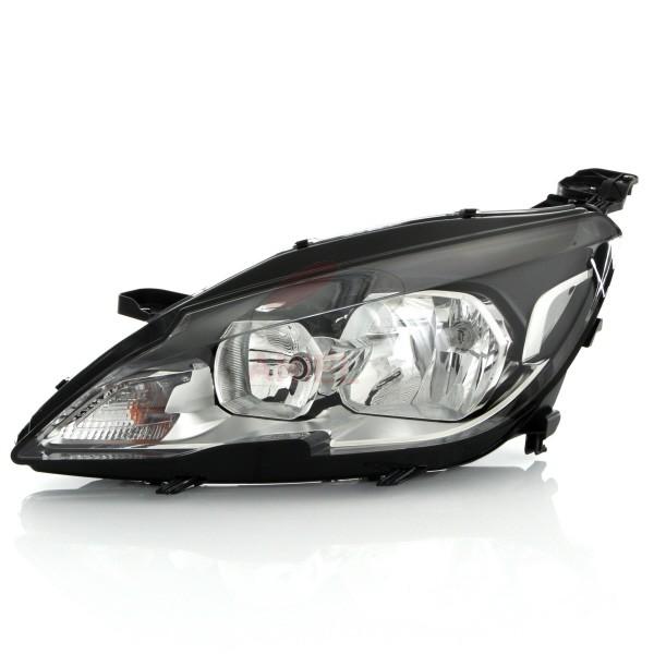 Far Peugeot 308, 10.2013-, Electric, tip bec H7+HB3, omologare ECE, cu motoras, cu lumini de zi, Dreapta, marca DEPO