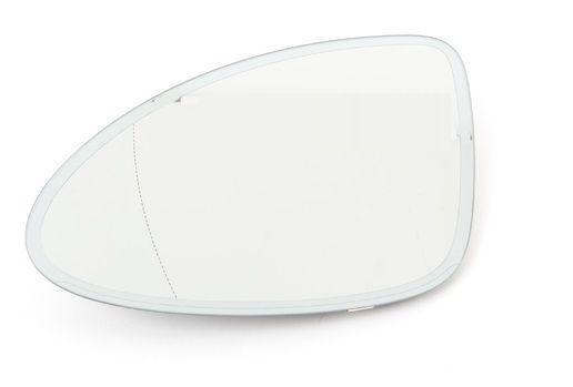 Geam oglinda Porsche Cayenne (92a), 04.2010-12.2014, partea Stanga, culoare sticla crom, sticla asferica, cu incalzire