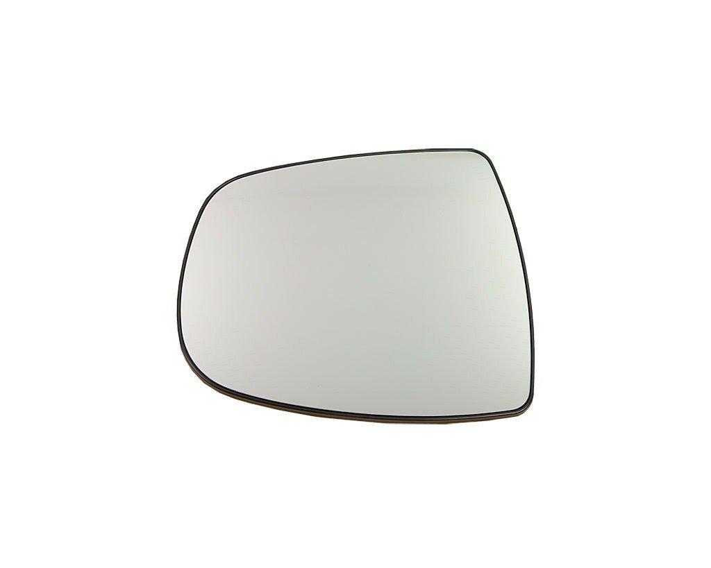 Geam oglinda Nissan Primastar (X83), 2002-2007, Opel Vivaro, 01.2001-12.2006, Renault Trafic (Fl/Jl), 03.2001-12.2006, partea Stanga, culoare sticla crom, sticla convexa, cu incalzire