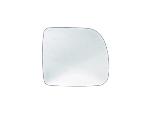 Geam oglinda Nisan Kubistar (X76), 08.2003-, Renault Kangoo (Kc/Fc), 01.2003-01.2008, Scenic (Ja), 09.1999-06.2003, partea Stanga, Dreapta, culoare sticla crom, sticla asferica, cu incalzire