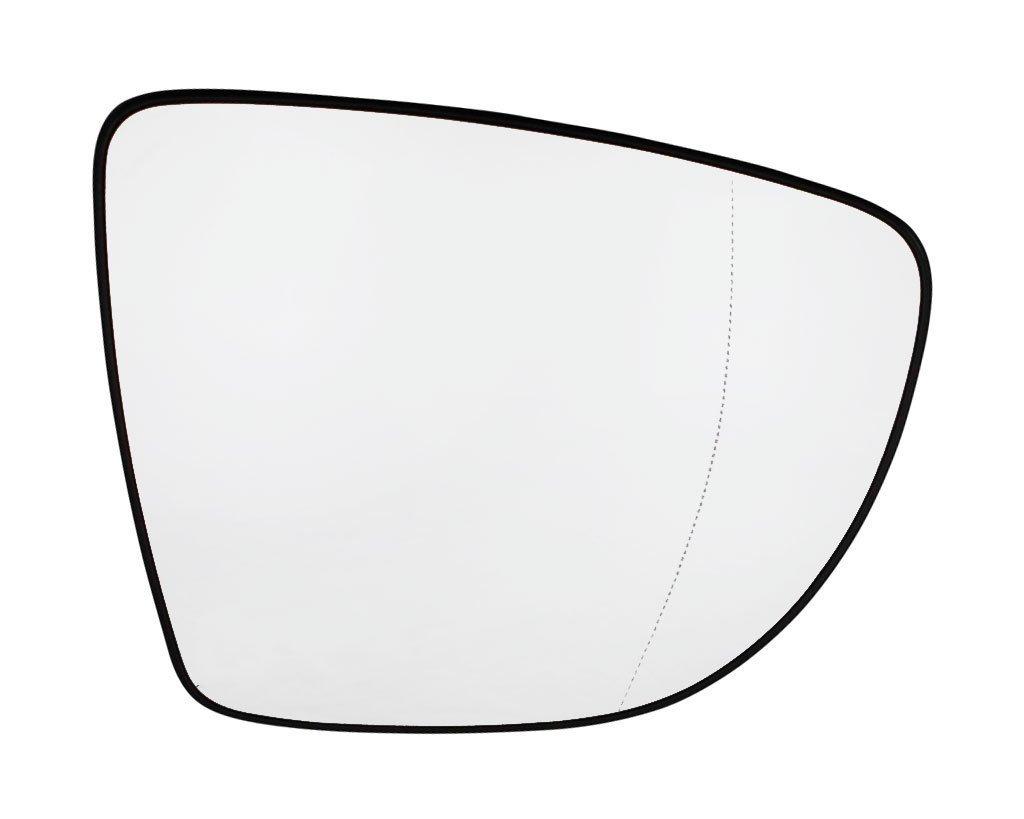 Geam oglinda Renault Captur, 03.2013-, Renault Clio Iv, 10.2012-, partea Dreapta, culoare sticla crom, sticla convexa, cu incalzire