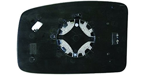 Geam oglinda Nisan Nv400, 11.2010-, Opel Movano, 01.2010-, Renault Master, 01.2010-, partea Stanga, culoare sticla crom, sticla convexa, cu incalzire