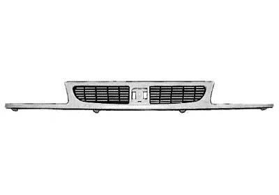 Grila radiator Seat Ibiza/Cordoba, 1997-2002, grunduit, complet, cu primer, cu grila interioara