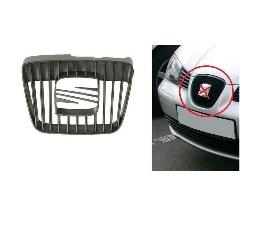 Grila radiator Seat Ibiza/Cordoba (6K), 07.1999-02.2002, negru