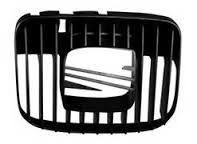 Grila radiator Seat Toledo 2 (1M2), 04.1999-09.2004, Leon (1M1) 11.1999-05.2005 exterior, negru