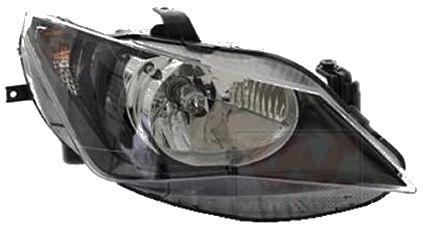 Far Seat Ibiza (6j), 04.2012-, Electric, tip bec H4, omologare ECE, fara motoras, Dreapta, marca DEPO