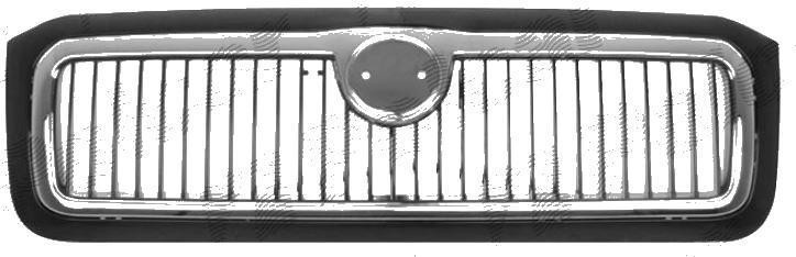 Grila radiator Skoda Felicia Hatchback + Combi, 1998-06.2001, crom/negru
