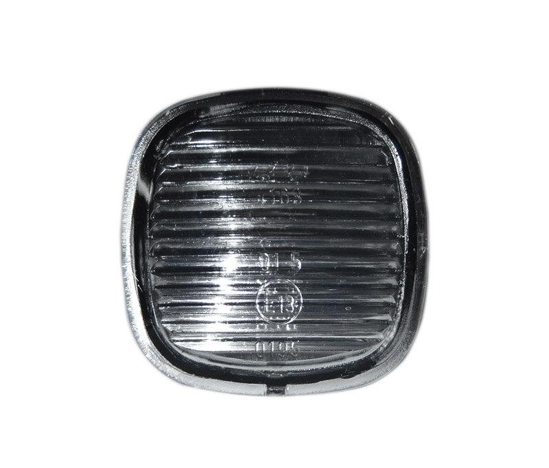 Lampa semnalizare aripa Audi A3 (8L) 1996-1999, A4 B5 1994-1998, A85, Seat Ibiza Cordoba 6K, Toledo 2012- Skoda Octavia 1 Fabia 1999-2015, Superb 2002-2008, Rapid, Roomster fumurie fara suport bec stg/dr. 1 buc.