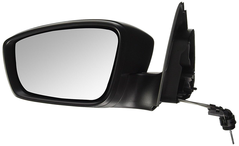 Oglinda exterioara Seat Toledo (Nh), 10.2012-, Skoda Rapid (Nh), 10.2012-, partea Stanga, culoare sticla crom, sticla convexa, cu carcasa neagra, ajustare manuala