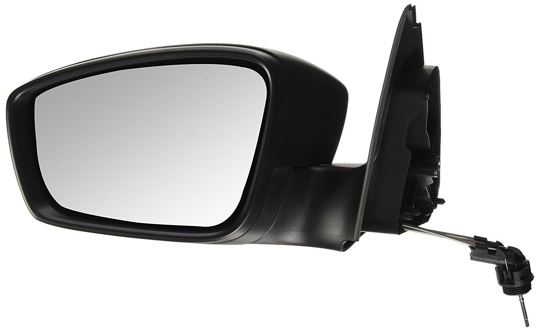 Oglinda exterioara Seat Toledo (Nh), 10.2012-, Skoda Rapid (Nh), 10.2012-, partea Stanga, culoare sticla crom, sticla convexa, cu carcasa neagra, cu incalzire, ajustare electrica