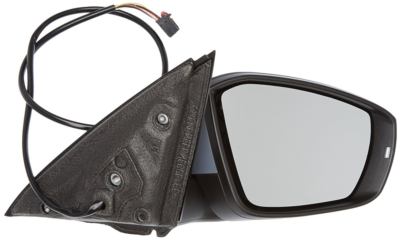Oglinda exterioara Skoda Octavia 3 (5e), 01.2013-, partea Dreapta, culoare sticla crom, sticla convexa, cu carcasa grunduita, cu incalzire, ajustare electrica