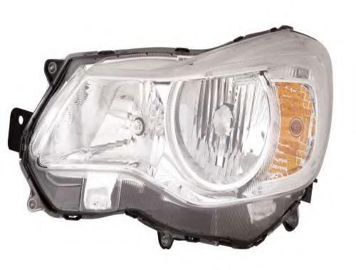 Far Subaru Impreza (Gp/Gj), 06.2011- Fara Wrx Sti, Subaru Xv, 11.2011-, Electric, tip bec H11+HB3, omologare ECE, fara motor, Stanga, marca DEPO