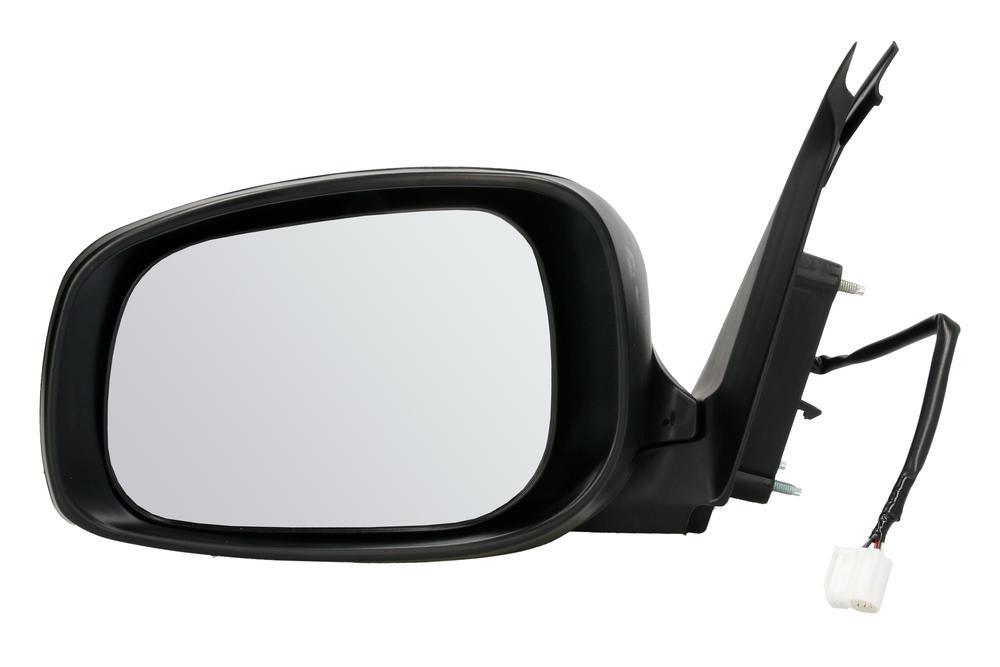 Oglinda exterioara Suzuki Swift (Sg) 03.2005-09.2010 Partea Stanga Crom Convex Electrica Fara Incalzire carcasa neagra grunduita