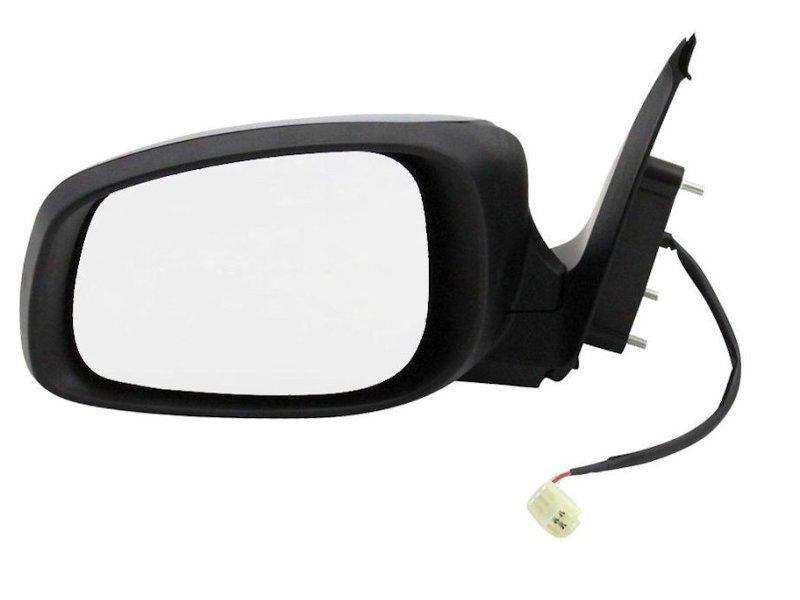 Oglinda exterioara Suzuki Swift (Sg) 03.2005-09.2010 Partea Dreapta Crom Convex Manuala Fara Incalzire carcasa neagra grunduita