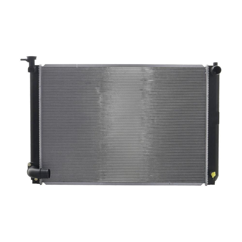 Radiator racire Lexus Rx (Xu30), 04.2005-2009 Model Rx400h Motor 3, 3 V6 155kw Benzina, tip climatizare Automat, Cu/fara AC, tip Denso ; diametru intrare/iesire 34/38mm, dimensiune 675x472x22mm, Cu lipire fagure prin brazare, KOYO