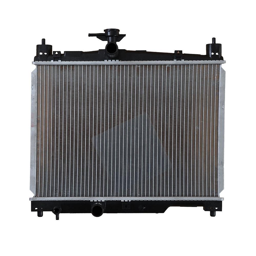 Radiator racire Toyota Yaris (Xp10), 03.1999-09.2005 Motor 1, 0 50kw; 1, 3 63kw Benzina, tip climatizare Manual, Cu/fara AC, tip Denso, diametru intrare/iesire 31/31mm, dimensiune 488x350x18mm, Cu lipire fagure prin brazare, DENSO