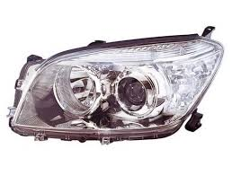 Far Toyota RAV4 (Xa30), 01.2006-02.2009, Electric, tip bec H11+HB3, omologare ECE, fara motor crom, Stanga, marca DEPO