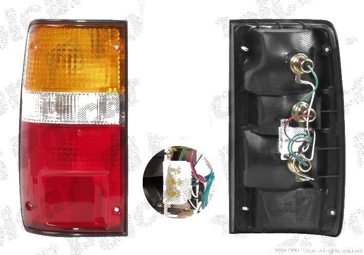 Stop spate lampa Toyota Hilux 4WD/4-Runner 1988-12.1997 Volkswagen TARO 2WD/4WD 04.1989-03.1997 partea Dreapta