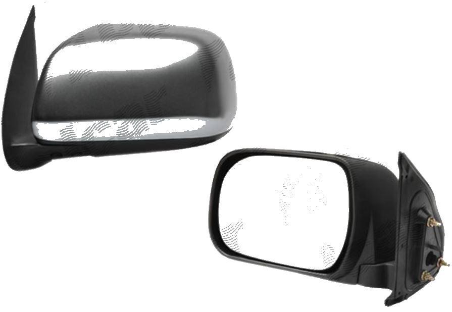 Oglinda exterioara Toyota Hilux 01.2005-01.2012 Partea Dreapta Crom Convex Manuala Fara Incalzire carcasa grunduita
