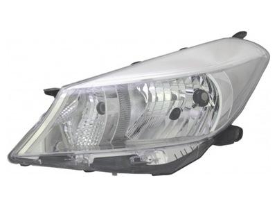 Far Toyota Yaris (Xp130), 03.2011-, Electric, tip bec H4, omologare ECE, fara motoras, argintiu, Stanga, marca DEPO