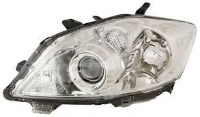 Far Toyota Auris (E15), 04.2010-, Electric, tip bec D4S+HB3, omologare ECE, fara motoras, fara balast, argintiu, Stanga, marca DEPO