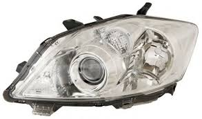 Far Toyota Auris (E15), 04.2010-, Electric, tip bec D4S+HB3, omologare ECE, fara motoras, fara balast, argintiu, Dreapta, marca DEPO