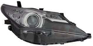 Far Toyota Auris (E18), 01.2013-, Electric, tip bec HiR2, omologare ECE, fara motoras, cu lumini LED de zi, Stanga, marca TYC