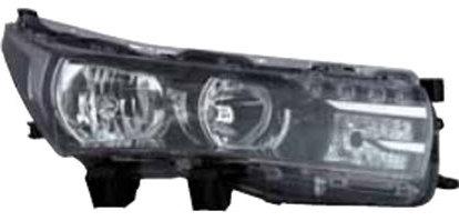 Far Toyota Corolla (E16) 07.2013-, Dreapta, tip bec H11+Hhb3, reglare electrica, cu motoras, ECE, cu lumni de zi tip LED, TYC