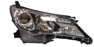 Far Toyota RAV4 (Xa40), 01.2013-, Electric, tip bec D4S+HB3, omologare ECE, fara motoras, fara balast, cu lumini LED de zi, Stanga, marca DEPO