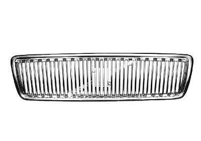 Grila radiator Volvo S70/V70/C70/Cabrio (Ls/Lw), 01.1997-12.2005, crom