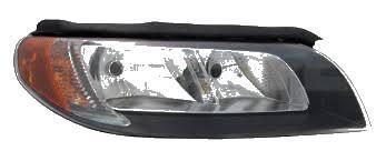 Far Volvo V70 (BW) 03.2007-/S80 (AS) 04.2006-/XC70 (BW) 03.2007- TYC electric fara motoras tip bec H7+H9, culoare rama negru