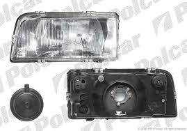 Far Volvo 850 Sedan/Combi 1991-1993 DEPO partea Dreapta electric fara motoras tip bec H4