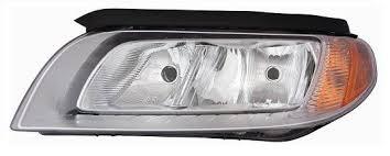 Far Volvo S80 (As), 04.2013-, Volvo V70 (Bw), .2013-, Volvo Xc70 (Bw), 2013-, Electric, tip bec H7+H9, omologare ECE, cu motoras, Dreapta