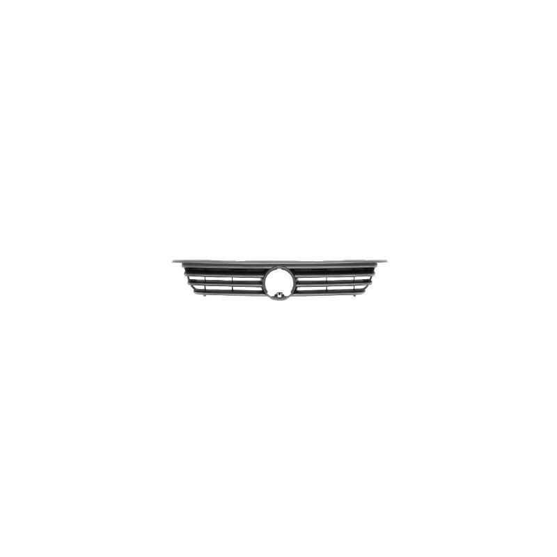 Grila radiator VW Polo (6N) Hatchback, 10.1994-08.1999, negru