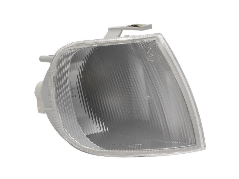 Lampa semnalizare fata Vw Polo (6n) Hb, 10.94-08.99, Alba, fara suport bec, omologare ECE, Dreapta
