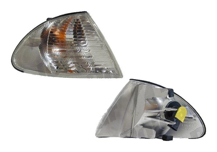 Lampa semnalizare fata Bmw Seria 3 E46 Sedan/Combi 06.1998-09.2001 partea stanga alba