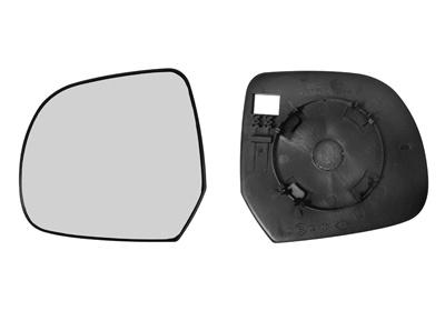Geam oglinda Dacia Dokker 11.2012-, Duster 01.2010-2012, Lodgy 19.2012, Renault Leaf 12.10-12.12, sticla oglinda fara incalzire convexa Stanga