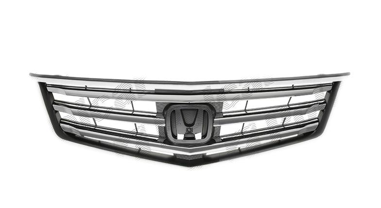 Grila radiator Honda Accord (Cu2), 03.2008-03.2011, fara emblema