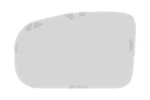 Geam oglinda Saab 9.3 (Ys3f), 09.2002-09.2007, Saab 9.5 (Ys3e), 09.2005-02.2010 , partea Dreapta, culoare sticla crom , sticla asferica, fixare cu banda adeziva
