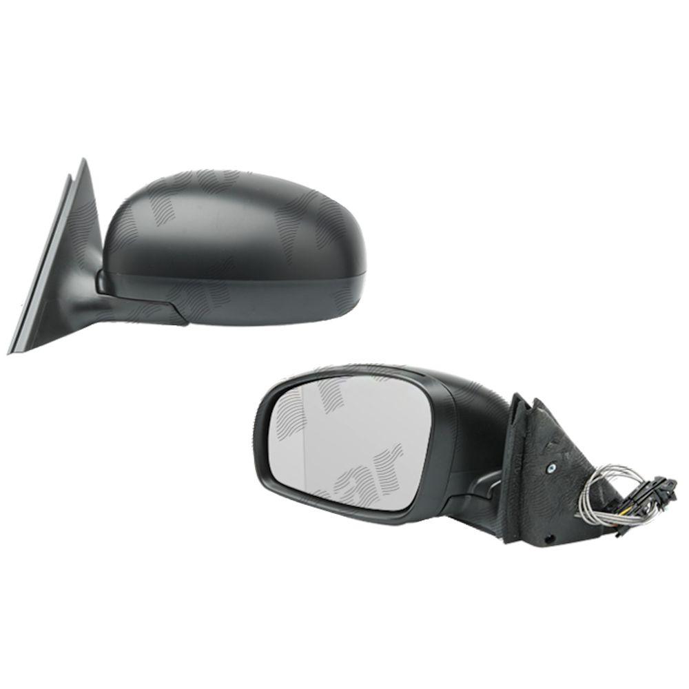 Oglinda exterioara Skoda Fabia 2 2007-2010 si modelul din 04.2010-prezent stanga manuala capac negru 5J0857507D