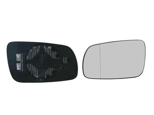 Geam oglinda Skoda Octavia 1 (1u2/1u5) 1997-2010 , Superb 2002-2005 stanga asferica sticla crom cu incalzire