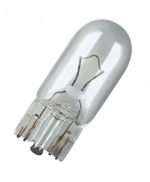 Bec auto Osram 2820 12V 2W W2.1x9.5d T10, bec lumini bord, bec pozitie, 1 buc.