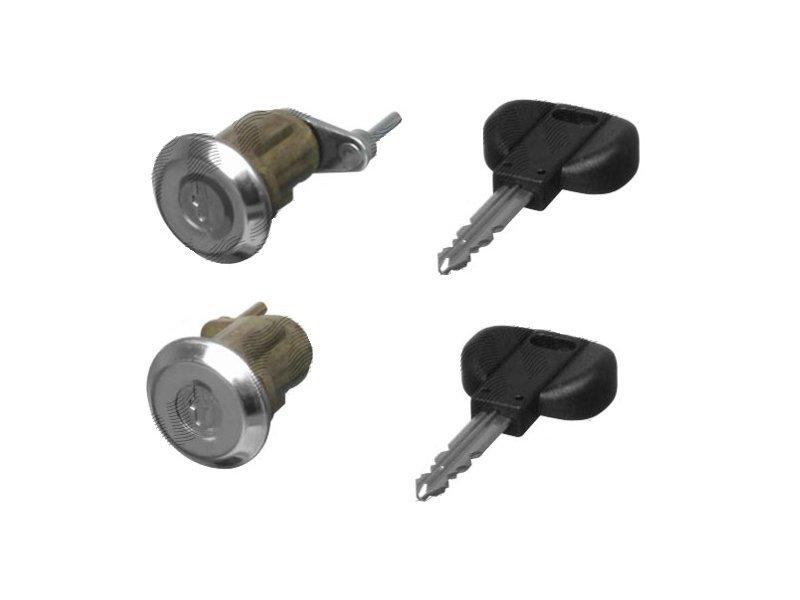 Set yale inchidere Citroen C15 (Vd)/ Visa, 06.1984-12.99, cu chei, cu 2 butuci blocare usa, stanga/dreapta, fata,