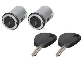 Set yale inchidere Citroen Jumpy, Fiat Scudo, Fiat Ulysse, Peugeot Expert, cu chei, cu 2 butuci blocare usa, stanga/dreapta, fata,
