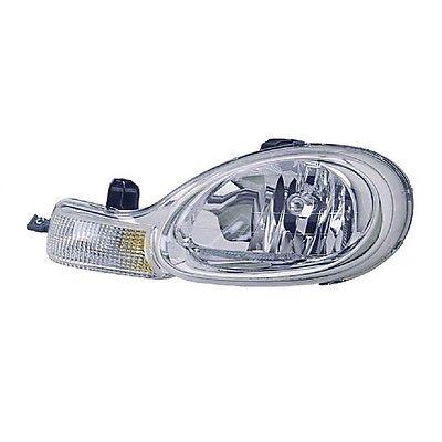 Far Chrysler Neon (Pl), 10.99-12.02, tip bec HB5, omologare SAE, semnalizare argintie , tip USA, 5288509AE; 5288509AE/AF; CH2502124, Stanga