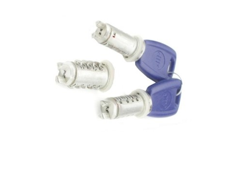 Set yale inchidere Fiat Punto 2 (188), 1999-07.2003, cu 3-5 Usi, cu chei, cu 2 butuci blocare usa, cu blocare portbagaj si buton deschidere, fata/spate,