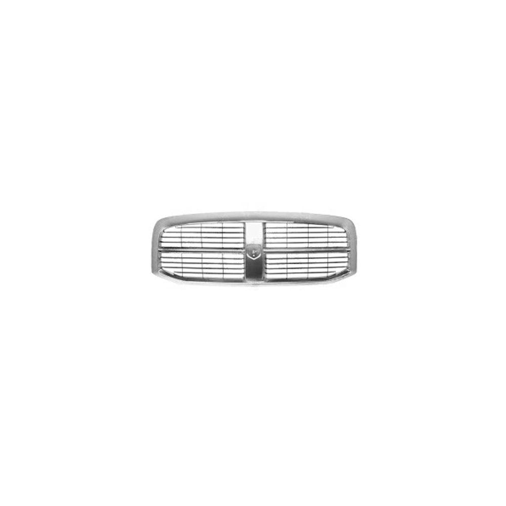 Grila radiator Dodge Ram, 01.2006-08.2008 , crom/negru, 55077767AC, 317205