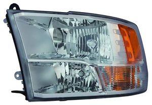 Far Dodge Ram (Ds/Dj) 2013-2014, Stanga, tip bec H1+Hb3, reglaj manual, SAE, TYC, 68096439AC,