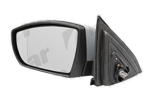 Oglinda exterioara Ford S-Max (Wa6), 05.2006-06.2010, Ford S-Max (Wa6), 06.2010-2012 , partea Dreapta, culoare sticla crom, sticla convexa, cu carcasa grunduita, cu incalzire, ajustare electrica, 1716529; AM2117682AVB